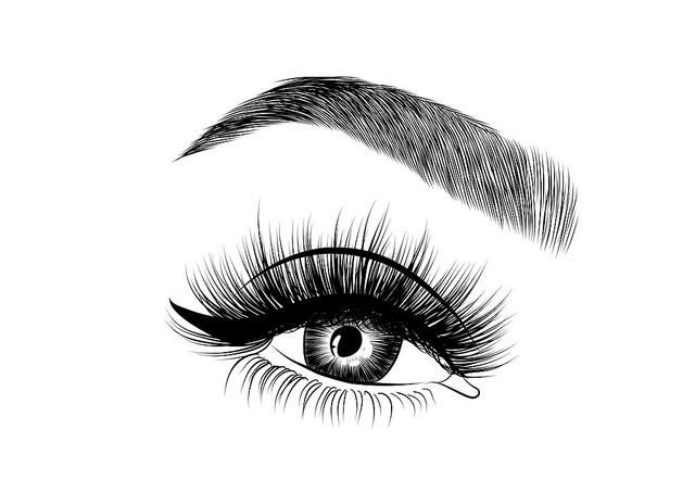 """Sexy Chaos statt Schlupflider: Wir gehen individuell auf deine Augenform ein, um die Wimpernverlängerung hinsichtlich der Länge, Dicke, Biegung und Art der künstlichen Wimpern optimal an deinen Typ anzupassen. Dieser Look zum Beispiel kaschiert optisch unerwünschte Schlupflider, indem die Augen durch voluminöse, lange und stark gebogene künstliche Wimpern betont werden. Auch der aktuell total angesagte """"Messy Look"""" brilliert durch einen voluminösen Augenaufschlag: Mit diesem lässigen Look liegen die voluminösen, langen Wimpern etwas chaotisch und Du voll im Trend.   Wimpernverlängerung Erlangen - Typberatung bei Deinem Friseur Pur in Erlangen"""