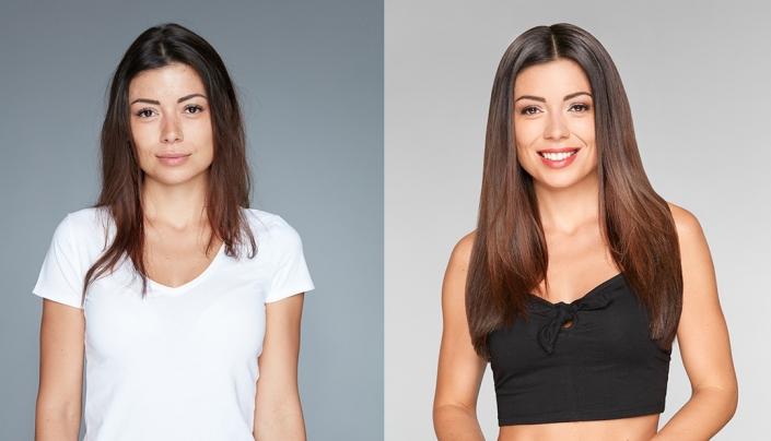 Haarverlängerung Nürnberg und Haarverdichtung - PUR - HAARE & MAKE-UP - hairtalk-vorher-nachher-03