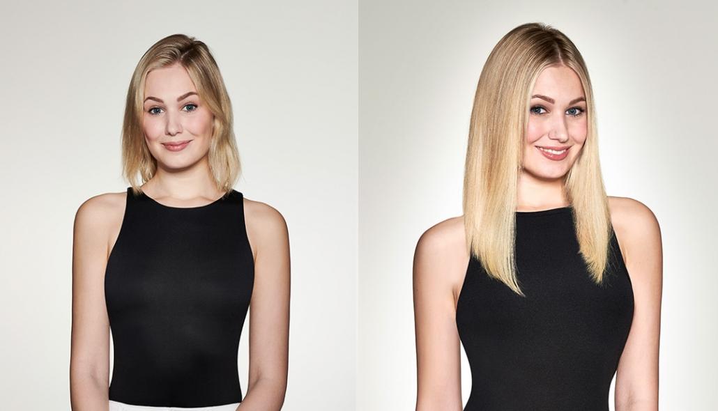 Haarverlängerung Fürth und Haarverdichtung - PUR - HAARE & MAKE-UP - hairtalk-vorher-nachher-10